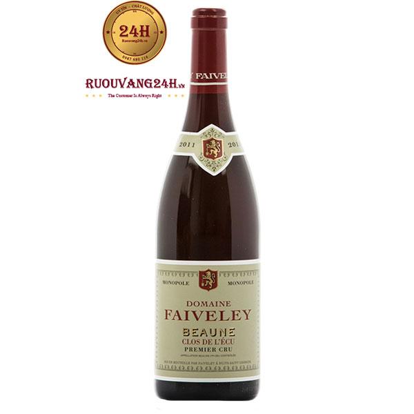 """Rượu Vang Domaine Faiveley Beaune 1er Cru """"Clos De l'Ecu"""" Monopole"""
