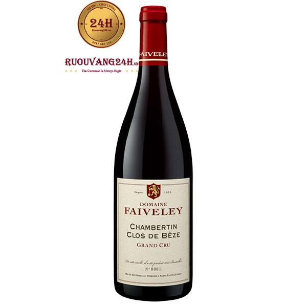 Rượu Vang Domaine Faiveley Chambertin Clos De Beze