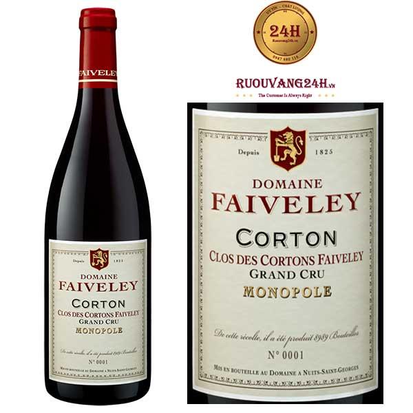 Rượu Vang Domaine Faiveley Corton Monopole