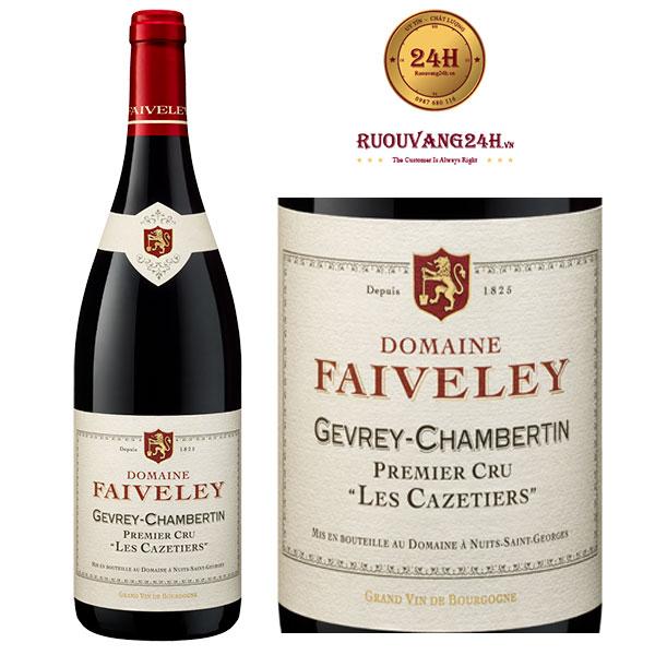 Rượu Vang Gevrey Chambertin Premier Cru Les Cazetiers