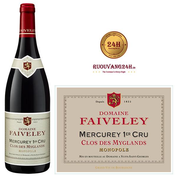 Rượu Vang Mercurey 1Er Cru Clos Des Myglands Monopole