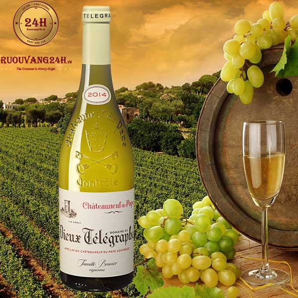 Rượu Vang Chateauneuf Du Pape Telegraphe White