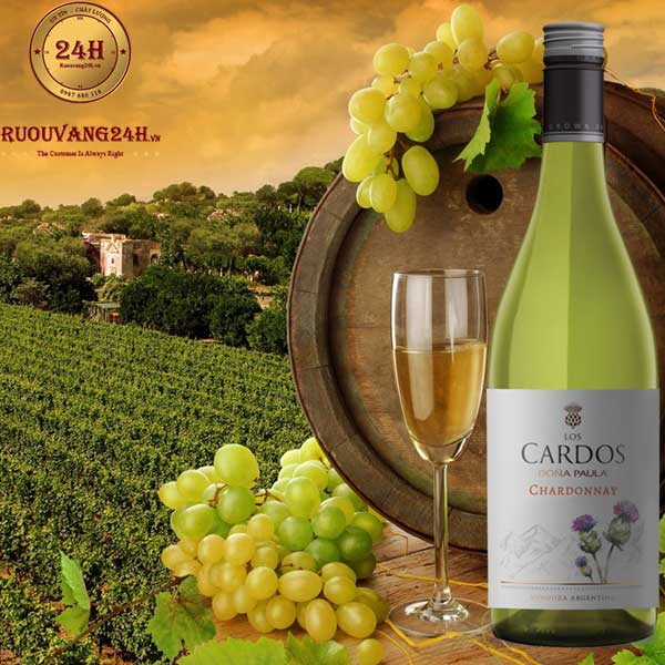 Rượu Vang Dona Paula Los Cardos Chardonnay