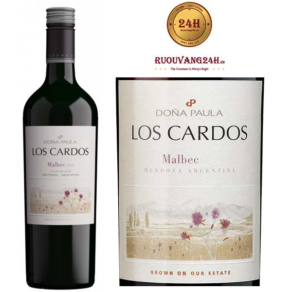 Rượu Vang Dona Paula Los CardosMalbec