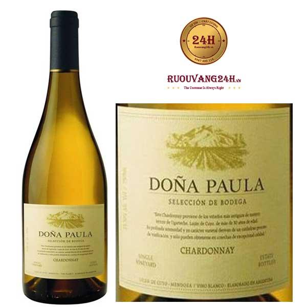 Rượu Vang Dona Paula Seleccion de Bodega Chardonnay