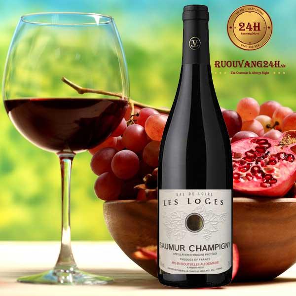Rượu Vang Drouet Freres Les Loges Saumur Champigny