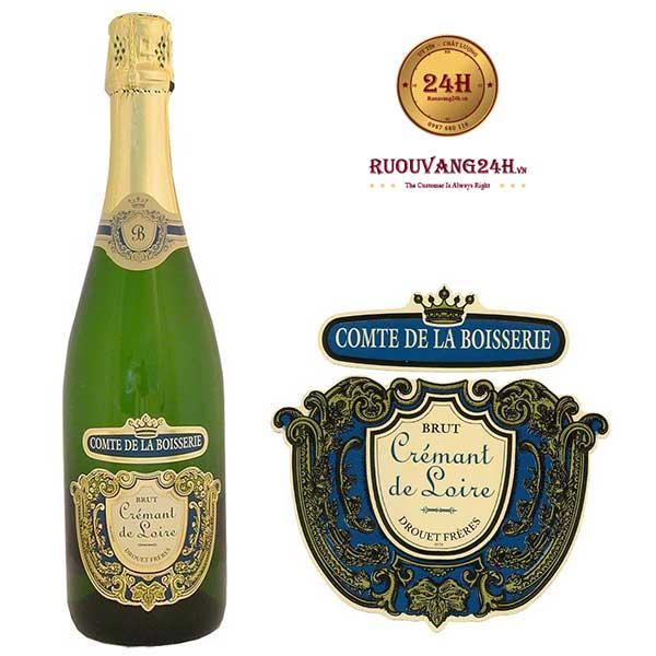 Rượu Vang Drouet Freres Saumur Brut Comte De La Boisserie