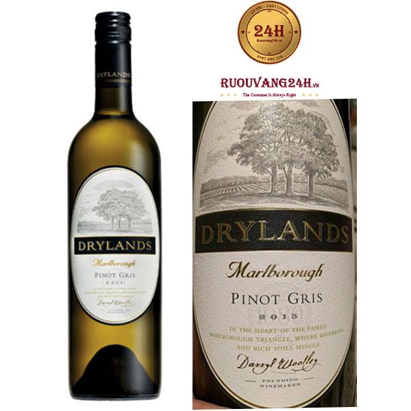 Rượu Vang Drylands Pinot Gris