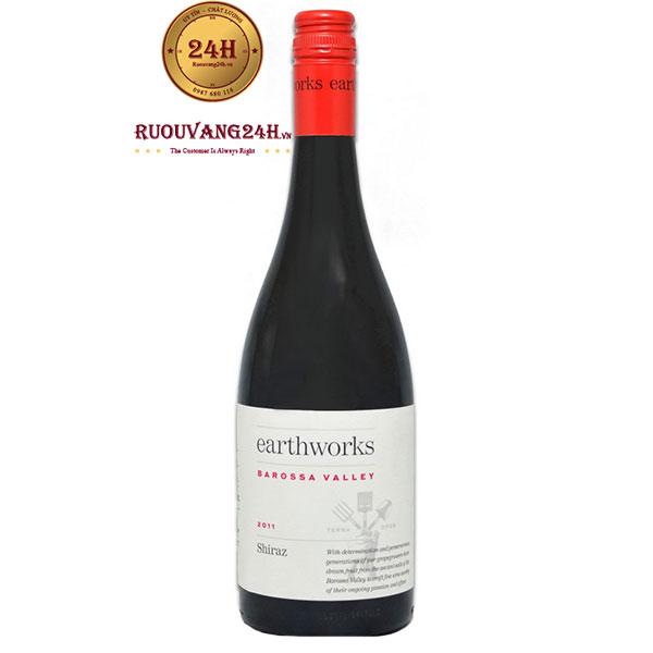 Rượu Vang EarthWorks Shiraz