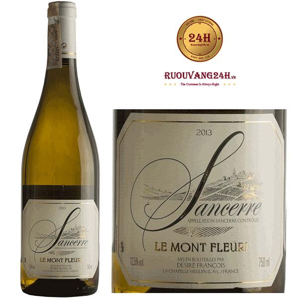 Rượu Vang Francois Desire Sancerre Le Mont Fleuri