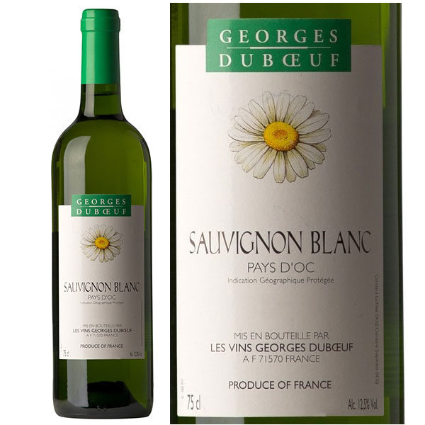 Rượu Vang Georges Duboeuf  Pays d'Oc IGP Sauvignon Blanc