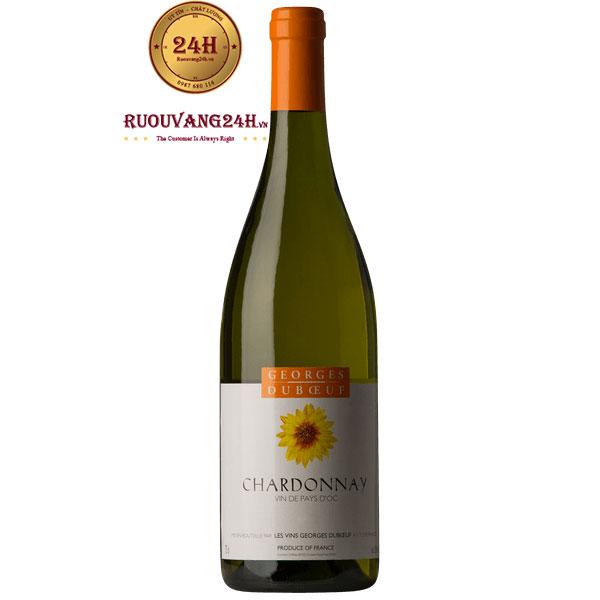 Rượu Vang Georges DuboeufVin De Pays D'OC Chardonay