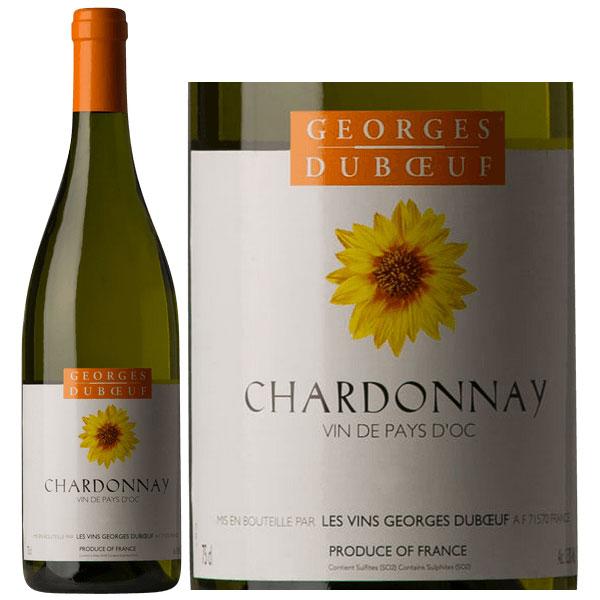 Rượu Vang Georges Duboeuf Vin De Pays D'OC Chardonay
