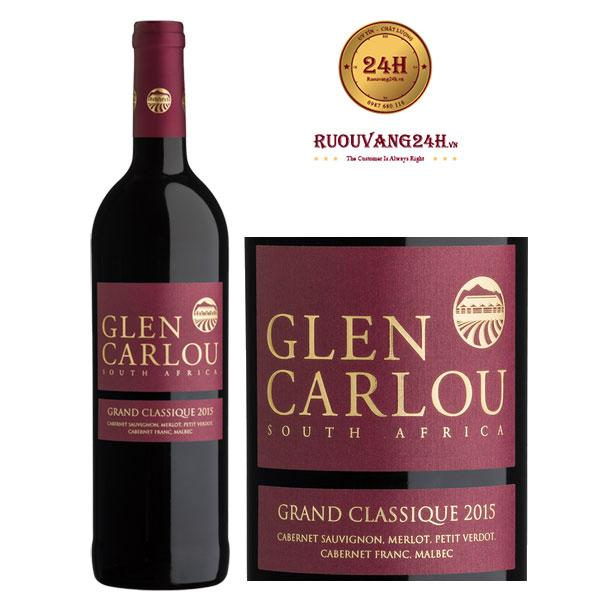 Rượu Vang Glen Carlou Grand Classique Bordeaux Blend