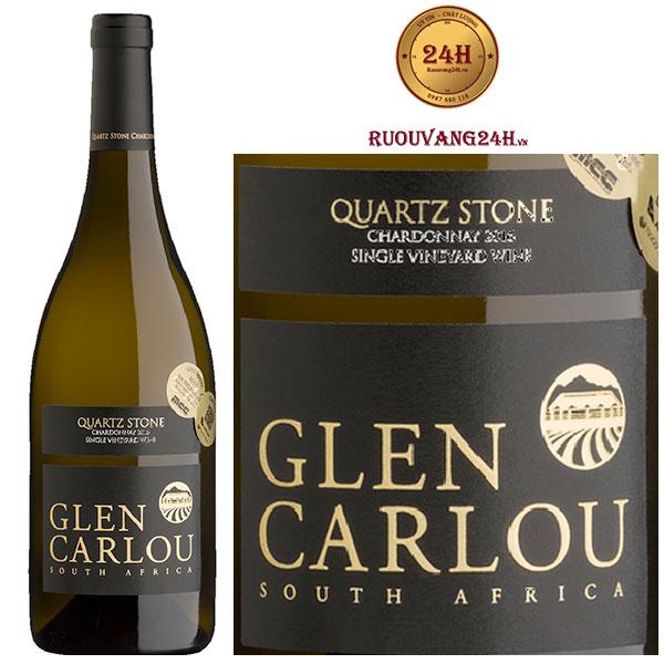 Rượu Vang Glen Carlou Prestige Quartz Stone Chardonnay