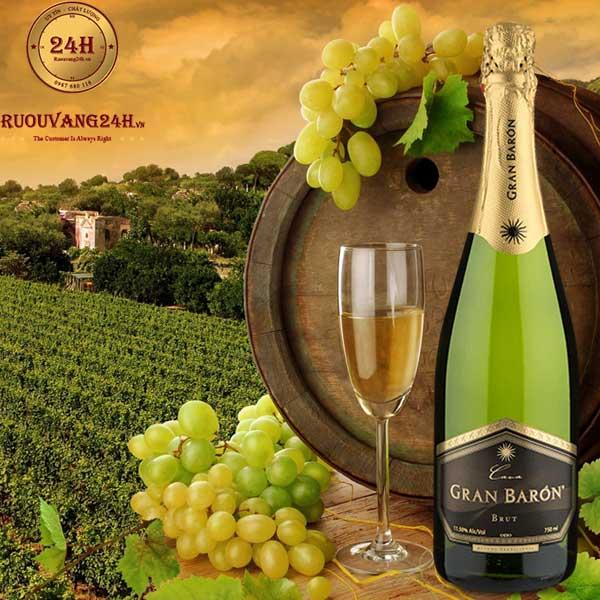 Rượu Vang Gran Baron Cava Brut