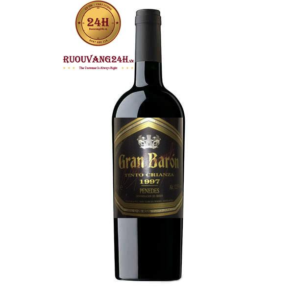 Rượu Vang Gran Baron Tinto Crianza