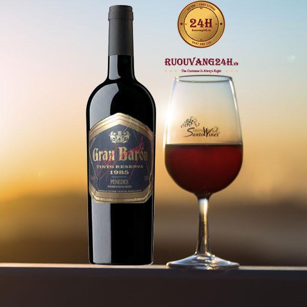 Rượu Vang Gran Baron Tinto Reserva