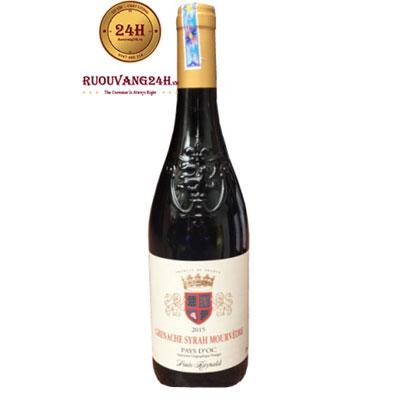 Rượu Vang Grenache Syrah Mourvedre Pays D'OC