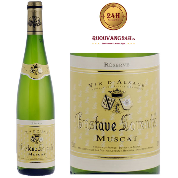 Rượu Vang Gustave Lorentz Alsace Muscat Alsace