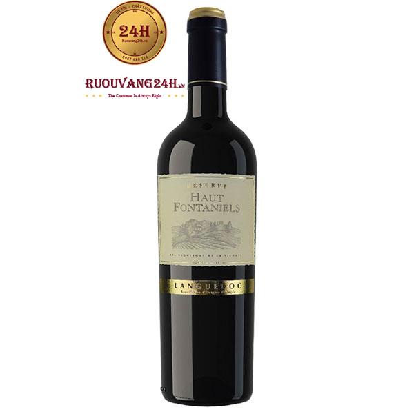 Rượu Vang Haut Fontaniels Languedoc