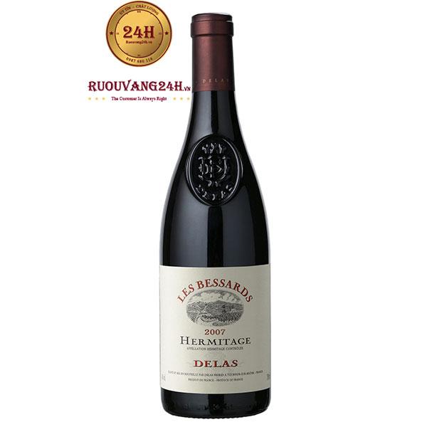 Rượu Vang Hermitage Delas Les Bessards Syrah