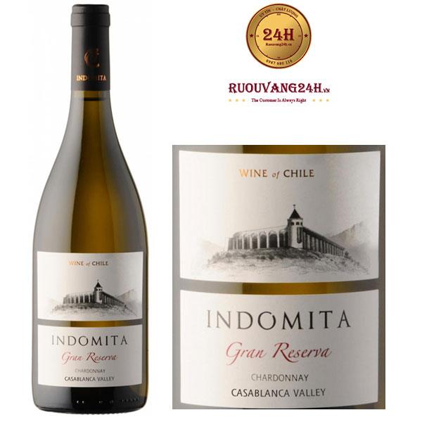 Rượu Vang Indomita Gran Reserva Chardonnay