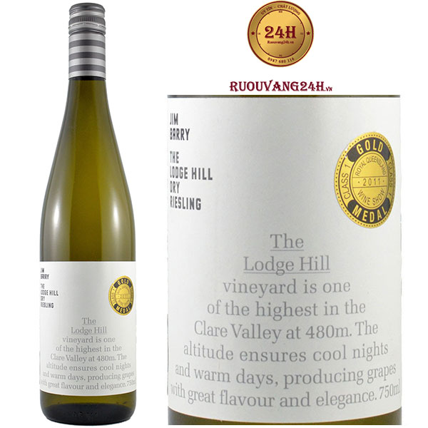 Rượu Vang Jim Barry Lodge Hill Riesling