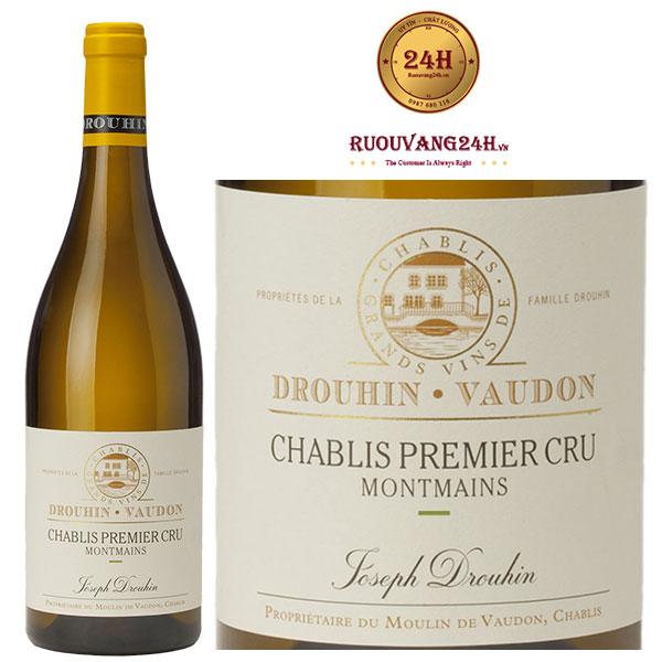 Rượu Vang Joseph Drouhin Chablis 1er Cru Montmains