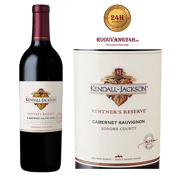 Rượu Vang Kendall Jackson Vintners Reserve Cab Sauvignon Sonoma