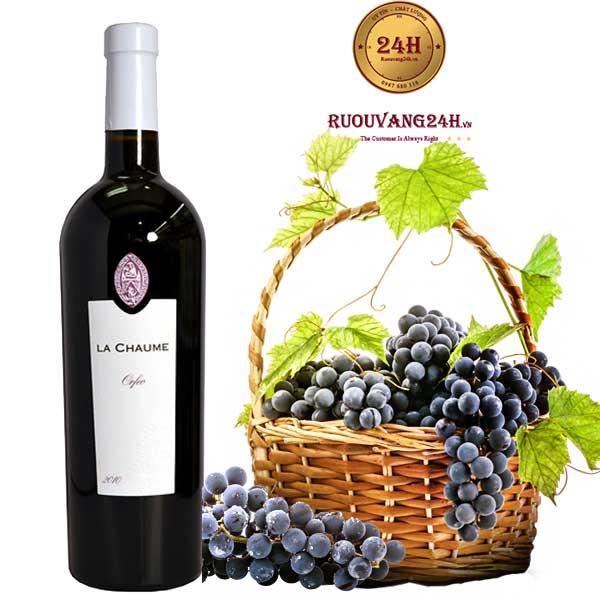 "Rượu Vang La Chaume ""Orfeo"" Val de Loire Vendee IGP"