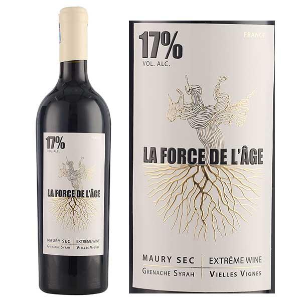 Kết quả hình ảnh cho vang pháp LA FORCE DE L'AGE