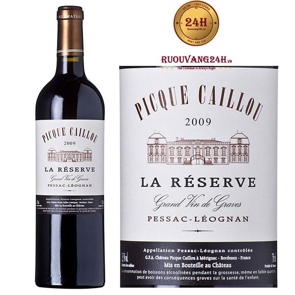 Rượu Vang La Reserve de Pique Caillou Pessac Leognan