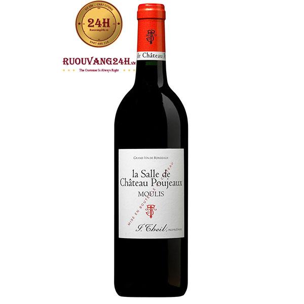Rượu Vang La Salle de Chateau Poujeaux