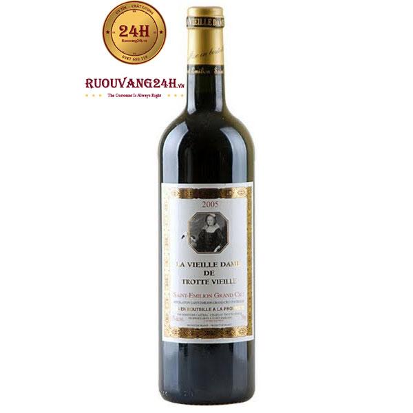 Rượu Vang La Vieille Dame De Trottevieille Grand Cru
