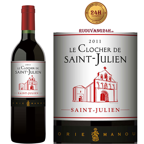 Rượu Vang Le Clocher de Saint Julien