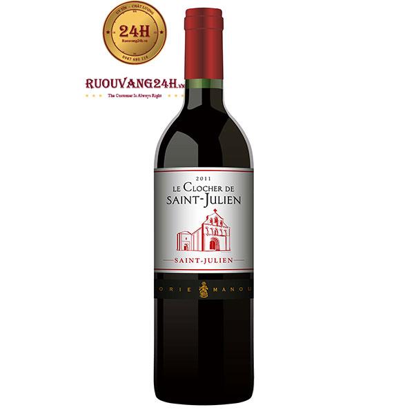 Rượu Vang Le Clocher de Saint Julien