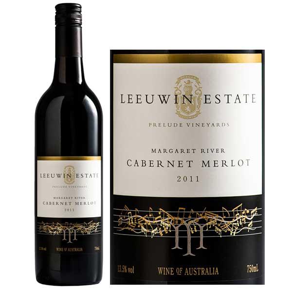 Rượu Vang Leeuwin Estate Prelude Vineyards Cabernet Sauvignon Merlot