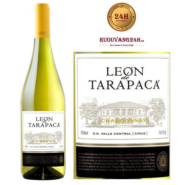 Rượu Vang Leon de Tarapaca Chardonnay