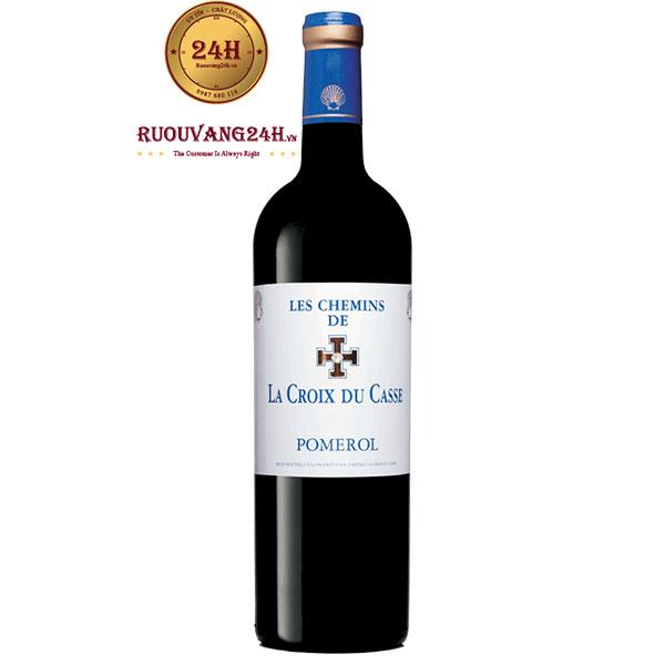 Rượu Vang Les Chemins de La Croix Du Casse Pomerol