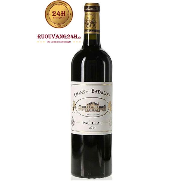 Rượu Vang Les Lions de Batailley Pauillac