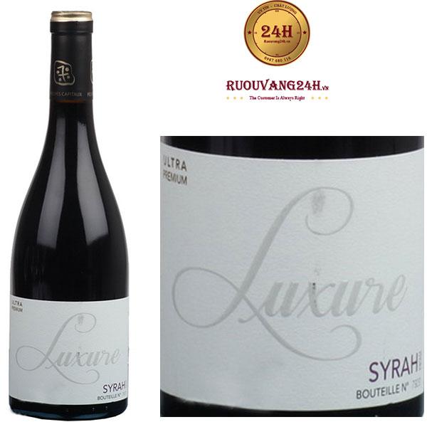 Rượu Vang Luxure Syrah