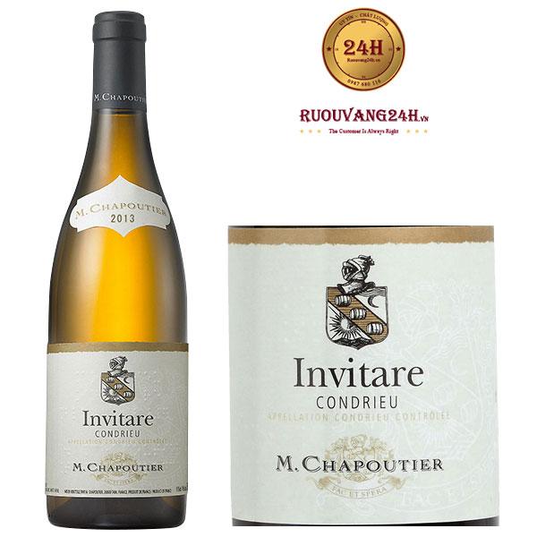Rượu Vang M.Chapoutier Invitare Condrieu
