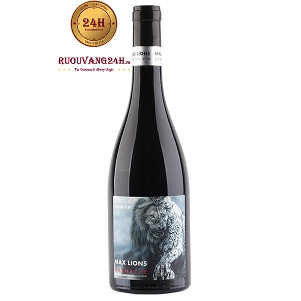 Rượu Vang Max Lions Grenache