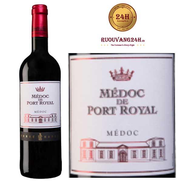 Rượu Vang Medoc de Port Royal Red