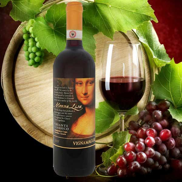 Rượu Vang Mona Lisa Cuvee