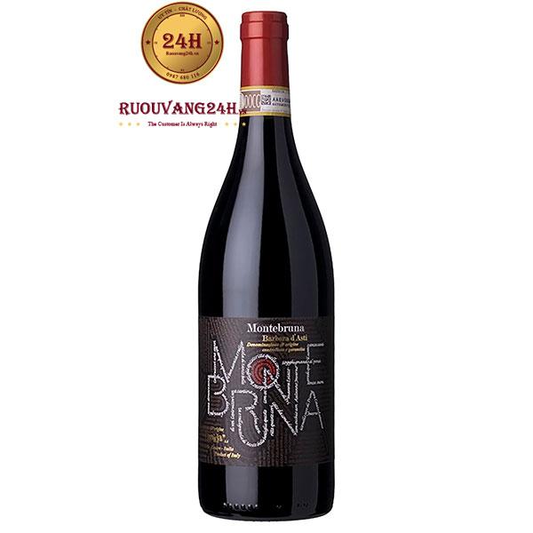 Rượu Vang Montebruna Barbera D'asti