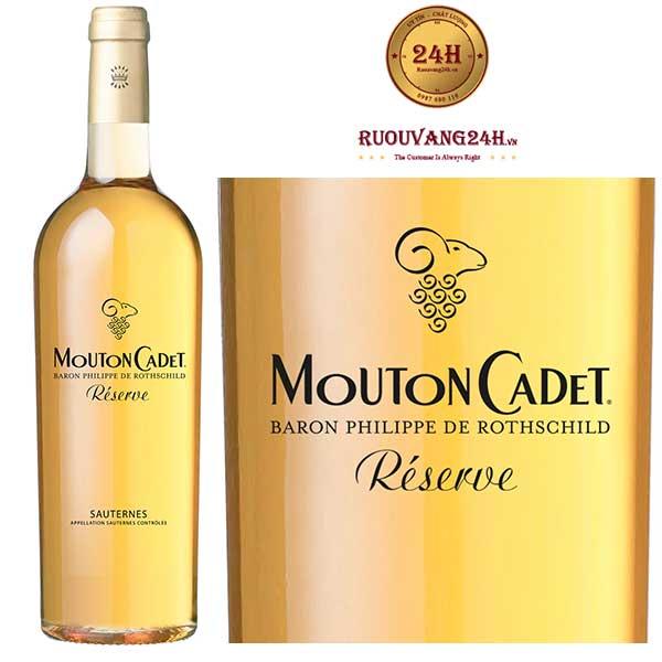 Rượu Vang Mouton Cadet Reserve SauternesBordeaux