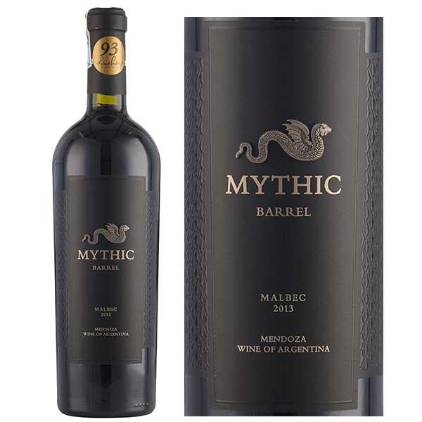Rượu Vang Mythic Barrel Malbec