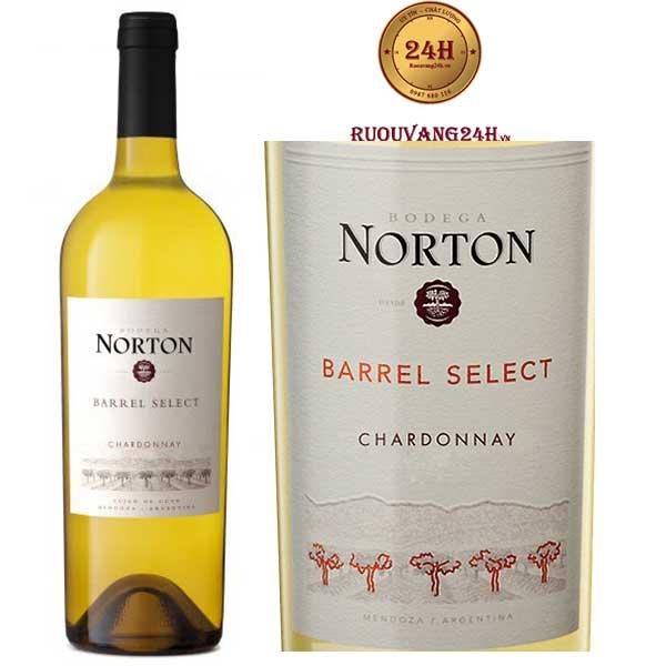 Rượu Vang Norton Barrel Select Chardonnay